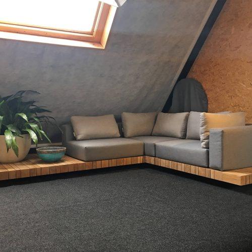 Modulaire loungehoek van Solpuri de Plateau