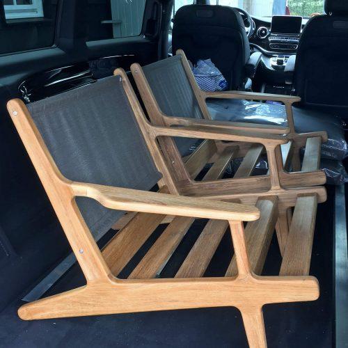 Gloster Bay - Lounge chair - Klaar voor levering