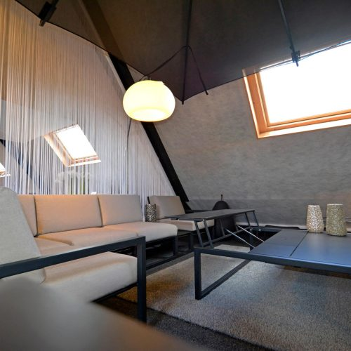 Inspiratieruimte Ninix Lounge hoek - Tafel halfopen