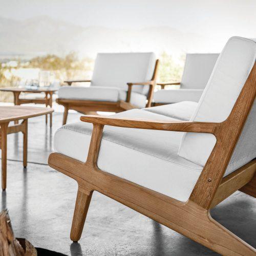 Lounge serie van Gloster - BAY Lounge