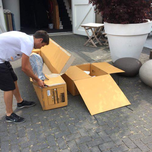 Nieuwe parasol - Royal Botania unboxing
