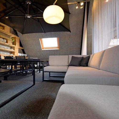 Royal Botania Ninix hoek - Tafel stoel lounge