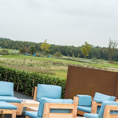 Terras inrichting - Golfbaan Bentwoud