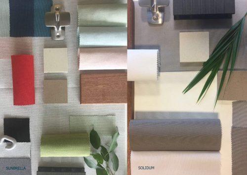 Nieuwe kleuren Umbrosa 2018 Moodboard