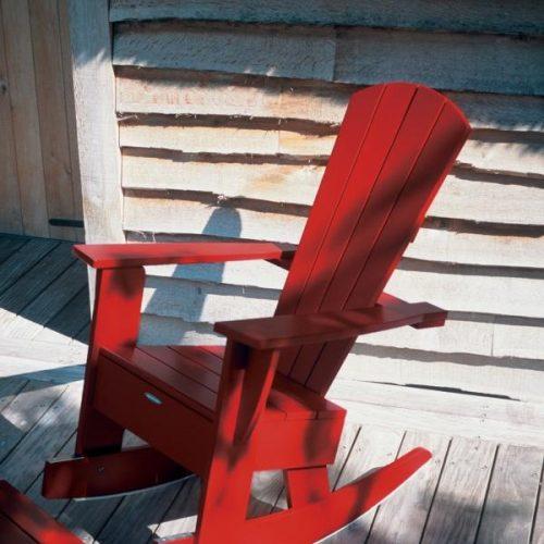 New England   Royal Botania   Rode schommelstoel