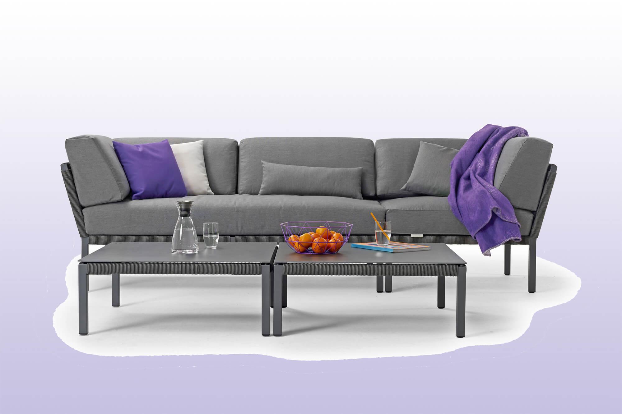 Solpuri Ultra Violet - Club lounge hoek