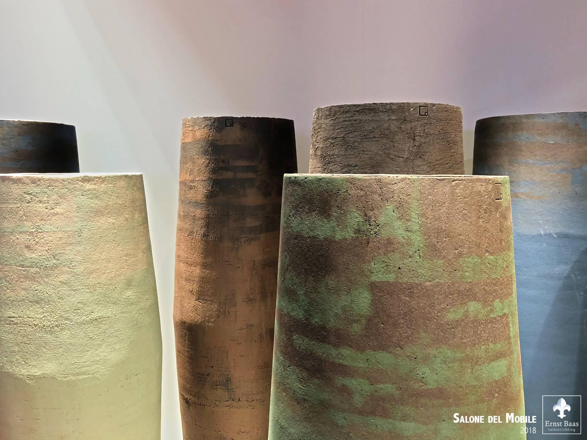 Pottery van Atelier Vierkant - Tijdens Salon del Mobile 2018