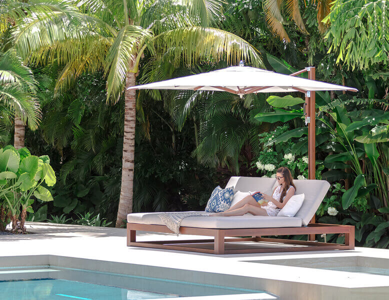 Tuuci - Equinox Double Chaise Lounge
