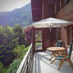 Umbrosa Paraflex in de bergen van Zwitserland