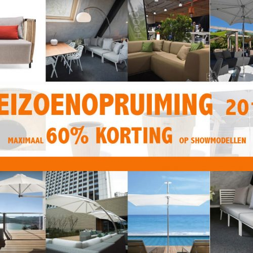Outlet tuinmeubelen 2018 Korting pakkers