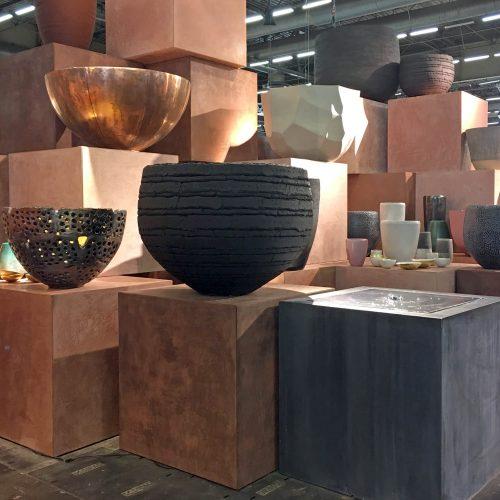 Pottery van Domani in Zink en Koper