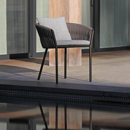 Twist dining chair - met kussen