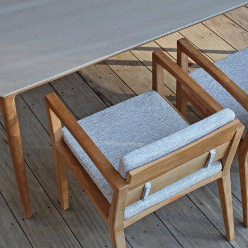 Royal Botania Zenhit met U-Nite tafel - Comfortabele eetstoel