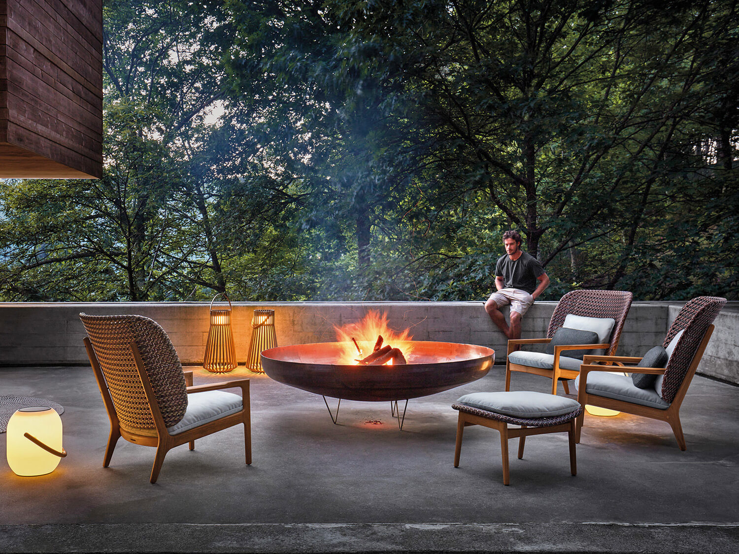 Outdoor furniture Kay van Gloster
