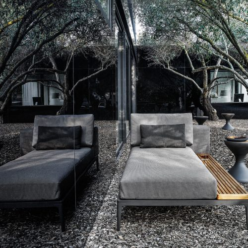 Gloster Daybed uit de Grid collectie