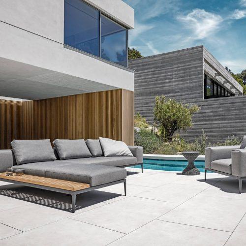 Lounge serie Grid van Gloster