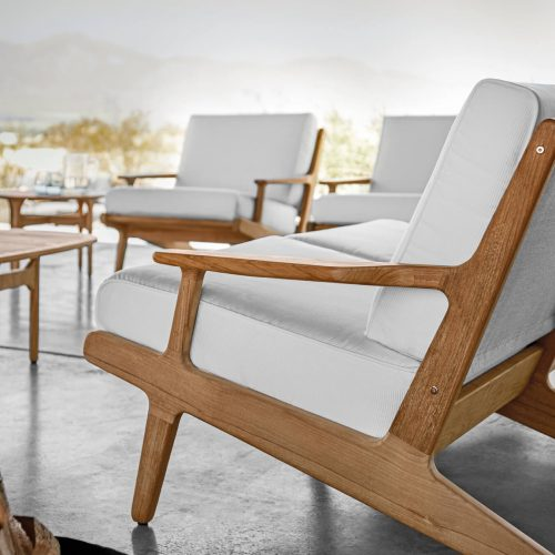 Bay Lounge serie by Gloster