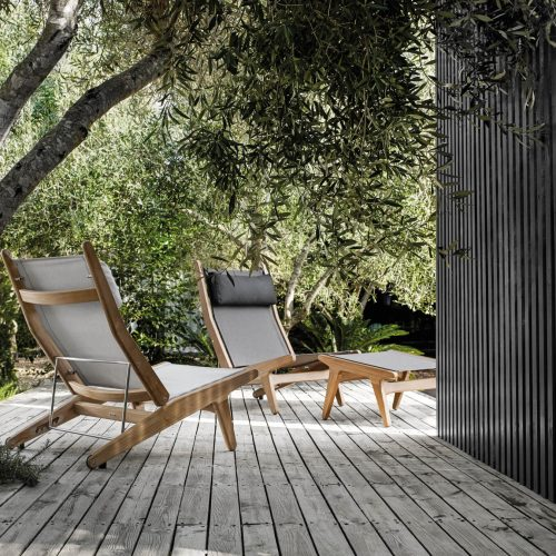Bay Reclining Chair Gloster tuinmeubelen