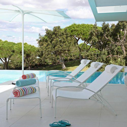 Heerlijk in de schaduw - Palma parasol