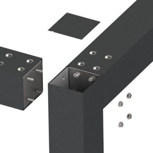 Hoekverbindings mogelijkheden