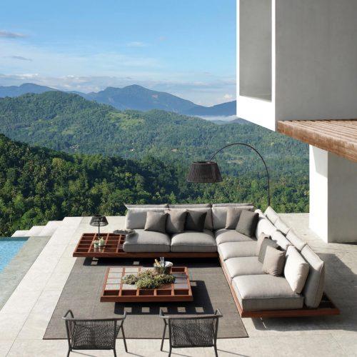 Exclusieve lounge bank - Mozaix