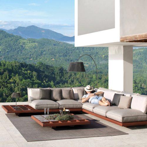 Royal Botania Mozaix lounge - Luxe tuinbank