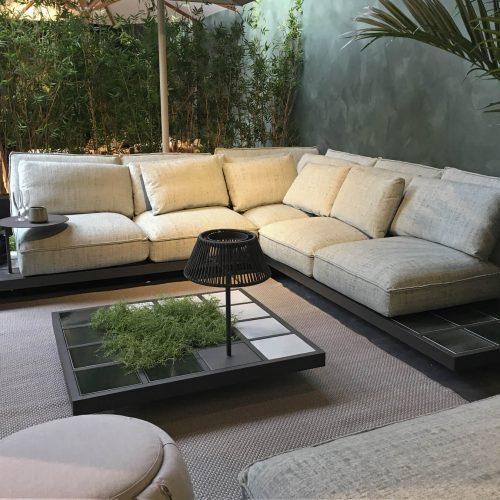 Aluminium - Mozaix lounge serie