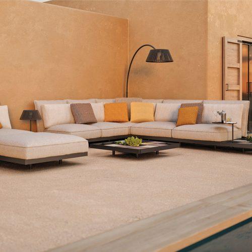 Aluminium Mozaix Lounge