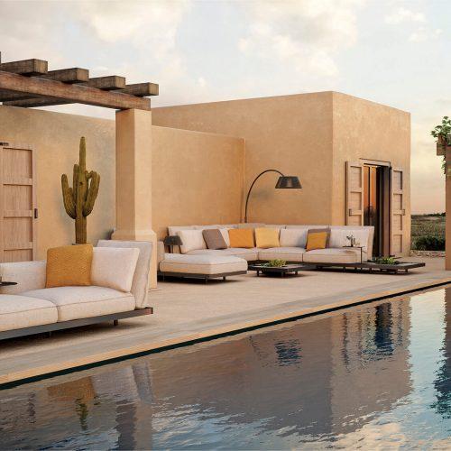 Exclusieve outdoor lounge Royal Botania