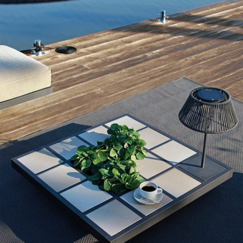 Mozaix Lounge Aluminium frame