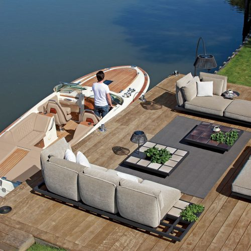 Mozaix Lounge set bij jacht