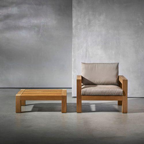 Piet Boon Lars serie coffee table armchair
