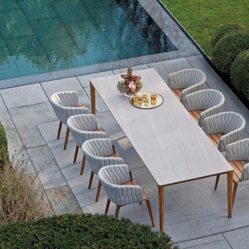 Royal Botania Calypso Dining met U-nite tafel