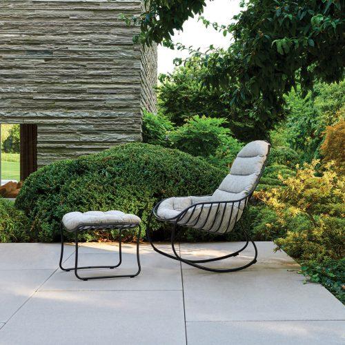 Royal Botania Folia Rocking Chair