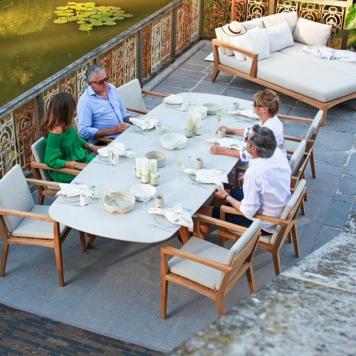 Royal Botania Zenhit chair met Zidiz tafel